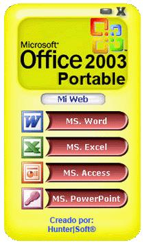 Microsoft Office 2003 Portable |   : juan barradas space :  ///